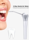 3-Way Dental Air Water Spray Triple Handpiece com 2 pontas de bicos Equipamento dental