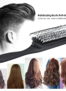 1pc Hair Comb Brush Anti-static Hairbrush 9 Rows Plastic Dentangling Hairdressing Scalp Massage