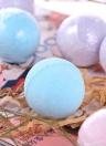 8pcs Organic Bath Bombs Fizzer Salts Ball Óleo Essencial Handmade SPA Stress Relief Exfoliante Ocean Lavender Rose Flavour