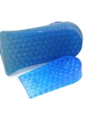 Novo Comfy Unisex Silicone Lift Height Aumentar Shoe Insoles Heel Insert Pad