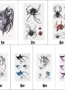 Fashion Waterproof Animal Tattoo Stickers Wolf Spider Owl Cat Horse Fawn Body Art Tattoo Pattern