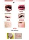 MENOW 6 olor Multifunções Delineador Encantador Eye Builder Lápis de Olho À Prova D 'Água Ferramenta Lápis P14002 # 055 # 056 # 057 # 058 # 59 # 60