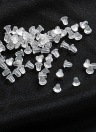 1000 Pcs Clear Earring Backs Safety Silicone Bullet Earring Clutch Earrings Jewelry Accessories