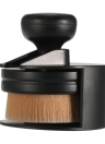 1pc Grand Maquillage Fondation Pinceau rond et plat Pinceaux Liquid Cosmetic Blush Brush Professional Women Pinceau Poudre Outil de maquillage noir