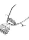 Barber herramientas de mano de cortar el pelo Manual de metal portátil Trimmer Cortador Super Silence para el bebé adulto y Mascotas