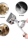 Barber Tools Hand Hair Clippers Manual Metal Portable Trimmer Cutter Super Silence for Adult Baby and Pet