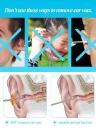 5pcs Stainless Steel Ear Pick Spiral Earpick Ear Wax Curette Remover Ear Cleaner Earpick Spoon Clean Ear