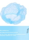 100Pcs Disposable Hair Hat Net Bouffant Cap Spun-Bonded Polypropylene Non-Woven Head Cover Hat Elastic Hat for Eyelash Eyebrow Tattooing Salon Medical Facilities Food Service