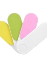 4 Colores Rotatable Nail File Professional Nail Buffer Rotación de Archivos de Uñas Herramientas de Manicura Polacas