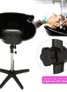 Hair Salon Portable Shampoo Sink Spa Deep Hair Shampoo Bowl Basin