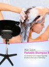 Hair Salon Shampooing portable Sink Spa Deep Hair Shampooing Bowl Basin