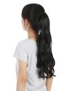Herramienta de peluquería largo postizo pelucas de pelo Pelucas para mujeres Negro de pelo Frizz pelucas muchacha extensión del pelo