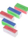 5шт Nail Art пилочки для ногтей буфера блока Полировка Инструмент для маникюра Профессиональный Файл Shiner ногтя салона ногтя инструмента