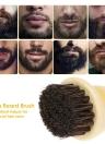 Men's Beard Brush Natural Horse Hair Mustache Shaving Brush ABS Handle Facial Hair Brush