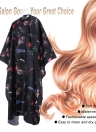 Hairdressing Gown Waterproof Salon Cape Haircutting Apron Hair Cutting Dyeing Styling Cloth for Barber Use