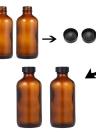 2Pcs 16 oz Garrafa de vidro vazia Vaso de pulverizador Fine Mist Atomizer Salon Spray de cabeleireiro Ferramenta de plantação de flores com 2 tampas de garrafa