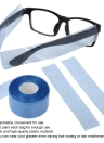 200pcs/box Plastic Disposable Covers for Glasses Legs Slender Bag Hair Coloring Dyeing DIY Tool