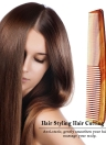 Hair Comb Salon Hair Cutting Styling Comb Wide Teeth Tail Comb Anti-Static Hairdressing Brush
