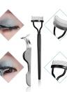 Extensión de pestañas Herramientas de maquillaje Set Entrenamiento pestañas Kit de rizador con cinta Cepillo de ojo Cinta Pestañas Pincel Tweezer Soplador de aire
