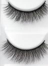 5 pares de cílios postiços longos cílios postiços cílios invisíveis faixa preta cílios full tira reutilizável