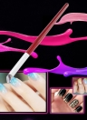 Nail Art Design Pen avec Nylon Blooming Paint Brush Gradient Color Change