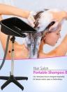 Basamento del lavandino ad altezza regolabile con apparecchiatura del salone di bellezza di scarico