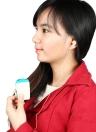 Amplificador de bolso ouvir som de ajuda para audição severa perda Volume voz ajustável com tampões para os ouvidos