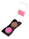Maquillage 2 Farben Rouge Puder Palette Kosmetik Make-up