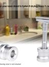 1Pc Man's Shaving Razor Stand Holder Aluminum Alloy Safety Razor Base Shaving Razor Accessory
