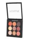 FOCALLURE 9 Colores Palette Matte Shimmer Polvos de sombra de ojos de larga duración