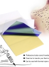 15 Sheets Tattooing Transfer Paper Carbon Thermal Stencil Copier Paper Tracing Paper with 4 Layers