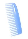 2 pcs Conjunto de pente de cabelo Detangling Cricket Pente Escova de cabelo antiestática para cabelos curtos Straight Hair Scalp Massage Escova de cabeleireiro Cor aleatória