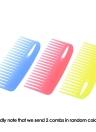 2 Pcs Hair Comb Set Detangling Cricket Comb Anti-static Hair Brush for Curly Straight Hair Scalp Massage Hairdressing Brush Random Color