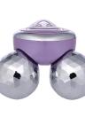 1 unid 4D Eléctrico Roller Balls Facial Masajeador Amasamiento Microcorriente Face Skin Lifting Reafirmante Herramienta Fina