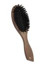 Brosse de cheveux antistatique Ovale Massage Peigne Paddle Extension de cheveux Brosse Scalp Massage Poignée en bois