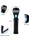 Electric Back Shaver Stretchable Back Razor for Male's Back Hair Shaving Foldable