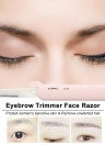 Eyebrow Trimmer Face Razor Shaver Hair Remover Beauty Eyebrow Knife Makeup Cosmetic Tools for Women