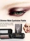 UBUB Ultra Shimmer Sombra de Ojos Pallete Doble Sombra de Ojos de Alta Calidad Impermeable Mate Sombra de Ojos Paleta de Sombra de ojos Maquillaje