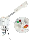 2 in 1 facciale vapore & 5X Magnifying Lamp UV Ozone Steamer Machine