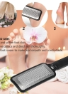 Large Foot Rasp Callous Remover Pedicure Foot File Hard Skin Remove Stainless Steel Foot Grinding Tool Black