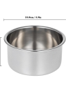 Stainless Steel Shaving Bowl Men's Soap Cup Shaving Mug Bowl Male Face Cleaning Soap Shaving Tool