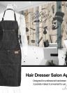 Hairdresser Salon Apron Hair Cutting Barber Hair Cutting Dyeing Cloth