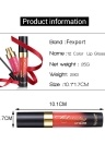 Fexport Cosmetics 12 Color Fashion Matt Lipstick Long Lasting Makeup Maquiagem Naked Longwear Lip Gloss  F6101 #06