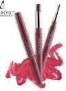 MISS ROSE 2 en 1 Lip Liner Stylo Étanche Coloré Soie Lisse Rouge À Lèvres Crayon Étirement Lèvre Brosse Outil Lèvres Maquillage