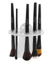 14 Buraco pincel de maquiagem Titular Secagem Cosmetic cremalheira escova Branco Armazenamento Organizer Secagem Torre Brushes ferramenta Shelf