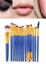15PCS Professional Eye Shadow Eyebrow Lip Maquillaje Pincel Herramientas Lana Diseño Pinceau Maquillage Professionnel