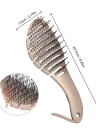 Hair Scalp Massage Hair Brush Anti-static Comb Soft Handle Hairbrush Girl Hair Beauty Care Tool