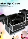 Large Cosmetic Organizer Box Make Up Case for Make Up Tools