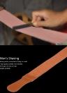 Correa de cuero de afeitar para hombres