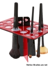Make-up Wschetrockner 26-Loch-Bürstenhalter Kosmetik Regal Acryl Bürsten Organizer Trocknen Bürstenhalter Storage Tool Ständer